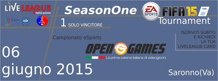 Season One<br /> FIFA Tournament 2015 - Torneo 1vs1 - FIFA15 (PS4)