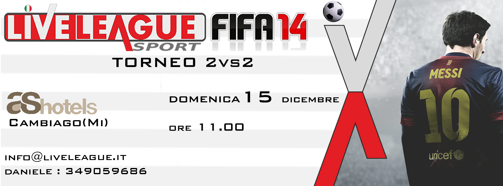 TORNEO 2VS2 DI FIFA 14