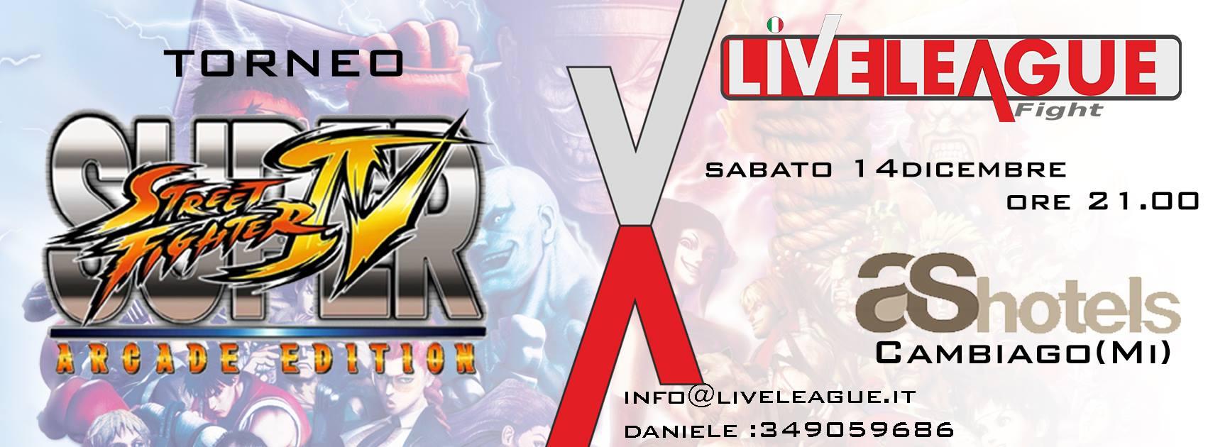 TORNEO DI SUPER STREET FIGHTER IV ARCADE EDITION