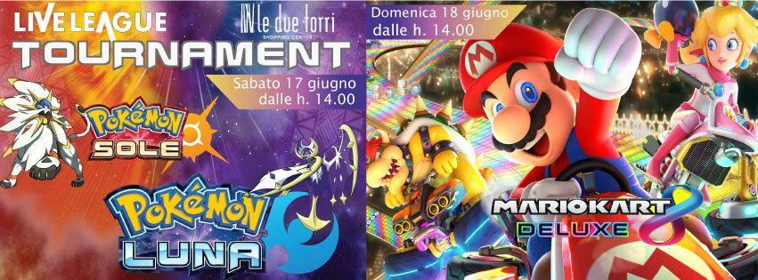 Pokémon Sole/Luna & Mario Kart Deluxe Tournament